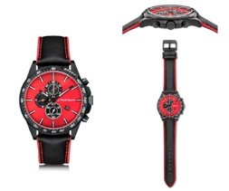 Chronograph , Red/black - Men