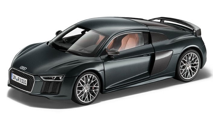 Audi R8 Coupe 1:18 – matt green