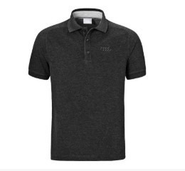 Audi Men's Polo - Grey
