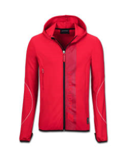 Audi Sport midlayer jacket, Mens, Red
