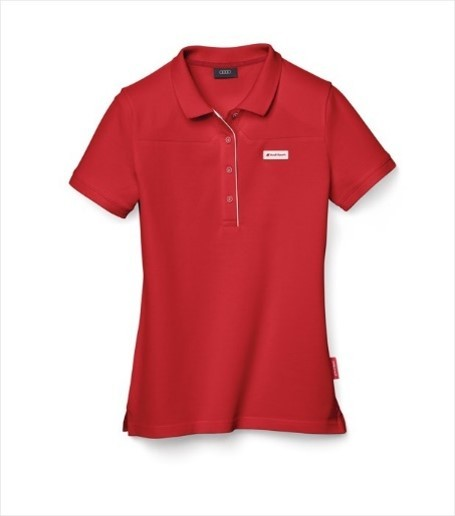 Audi Sport Ladies polo shirt -  red