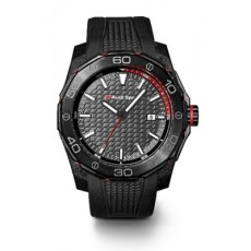 Audi Sport Watch, black rubber