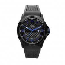 Audi Watch Black / Blue