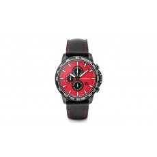 Chronograph, Audi Sport, red/black