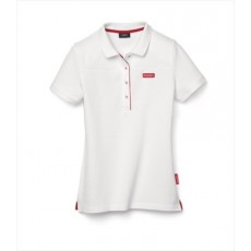 Audi Sport Women's Polo – White