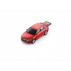A3 Sedan USB flash drive, 4 GB, Red