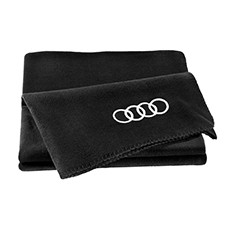 Audi Fleece Blanket - Black(180x130cm)