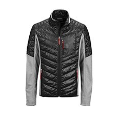 Audi Sport Hybrid jacket, Mens, grey/black