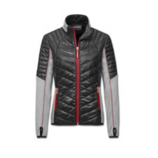 Audi Sport Hybrid jacket, Womens, grey/black