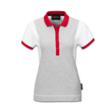 Audi Sport Poloshirt, Womens, white/grey