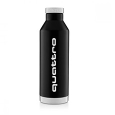 quattro Insulated bottle - Black
