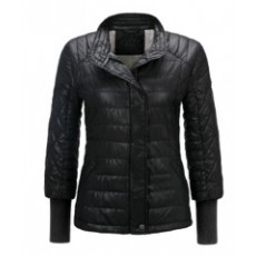 Quilted jacket - Women - Black
