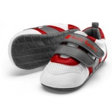 Audi Sport Shoes, Babys, white/grey/red,